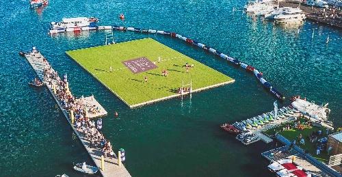 WATERUGBY à Toulouse : Le Quai de la Daurade se transforme en terrain de rugby du 13 au 15 septembre !